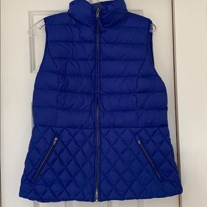 Talbots Quilted Puff vest